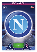 Champions League Match Attax Extra 2019<br />Napoli Cards