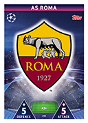 Champions League Match Attax Extra 2019<br />AS Roma Cards
