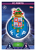 Champions League Match Attax Extra 2019<br />Porto Cards