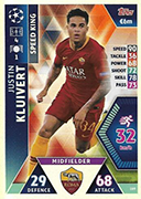 Champions League Match Attax Extra 2019<br />Speed King Cards