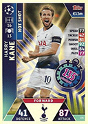 Champions League Match Attax Extra 2019<br />Hot Shot Cards