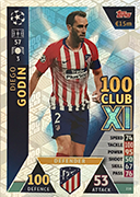 Champions League Match Attax Extra 2019<br />UCL 100 Club Cards
