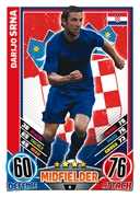 Match Attax England 2012 Croatia Cards