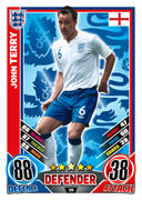 Match Attax England 2012 England Cards