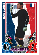 Match Attax England 2012 France Cards