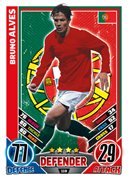 Match Attax England 2012 Portugal Cards