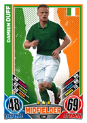 Match Attax England 2012 Republic Of Ireland Cards