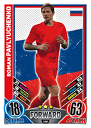 Match Attax England 2012 Russia Cards