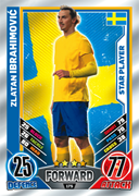 Match Attax England 2012 Star Players Cards