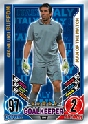 Match Attax England 2012 Man Of The Match Cards