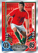 Match Attax England 2012 100 Club Cards