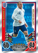 Match Attax England 2012 Limited Edition Cards