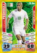 Match Attax England 2014 Algeria Cards