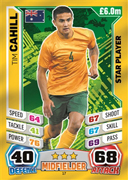 Match Attax England 2014 Star Players Cards