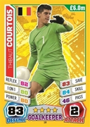 Match Attax England 2014 Belgium Cards