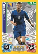 MA England 2014 Bosnia and Herzegovina Cards