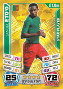 Match Attax England 2014 Cameroon Cards