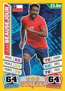 Match Attax England 2014 Chile Cards