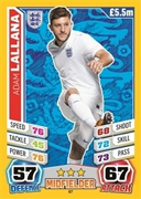 Match Attax England 2014 England Cards