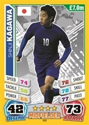 Match Attax England 2014 Japan Cards