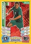 Match Attax England 2014 Mexico Cards