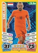 Match Attax England 2014 Netherlands Cards