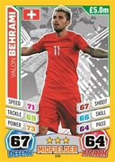 Match Attax England 2014 Switzerland Cards