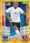 Match Attax England 2014 USA Cards