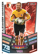 Germany Match Attax 2014 Augsburg Cards
