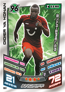 Germany Match Attax 2014 Hannover Cards