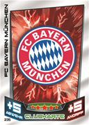 Germany Match Attax 2014 Club Cards Cards