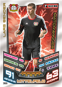 Germany Match Attax 2014 Match Winners Cards