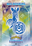 Germany Match Attax 2016 Duisburg Cards