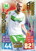 Germany Match Attax 2016 Hat Trick Heroes Cards