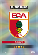 Germany Match Attax 2017 Augsburg Cards
