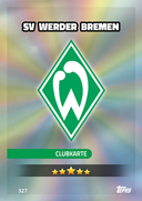 Germany Match Attax 2017<br />Werder Bremen Cards