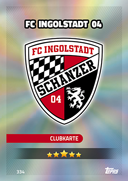 Germany Match Attax 2017 Ingolstadt Cards