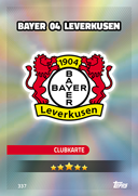 Germany Match Attax 2017<br />Bayer Leverkusen Cards
