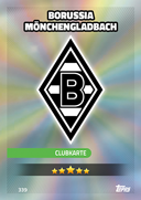 Germany Match Attax 2017<br />Borussia Monchengladbach Cards