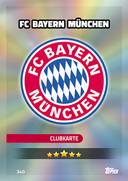 Germany Match Attax 2017 Bayern Munich Cards
