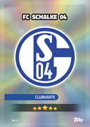 Germany Match Attax 2017 Schalke Cards