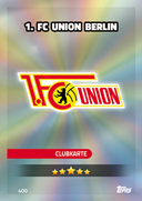 Germany Match Attax 2017 Union Berlin Cards