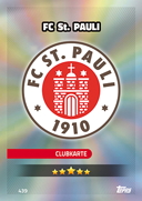 Germany Match Attax 2017 St Pauli Cards