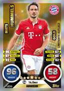 Germany Match Attax 2017 Limited Edition Cards