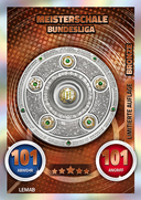 Germany Match Attax 2017 Club Badges Cards