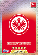Germany Match Attax 2018 Eintracht Frankfurt Cards