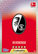 Germany Match Attax 2018 Freiburg Cards