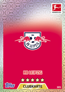 Germany Match Attax 2018 RB Leipzig Cards
