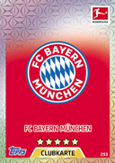 Germany Match Attax 2018 Bayern Munich Cards