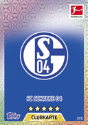 Germany Match Attax 2018 Schalke Cards